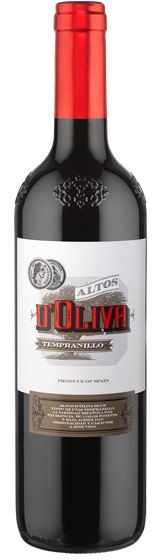 Altos D'Oliva Spanish Tempranillo 2018