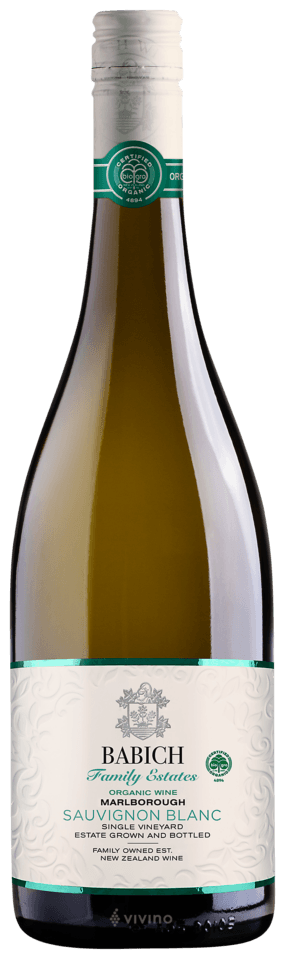 Babich Family Estates Headwaters Organic Marlborough Sauvignon Blanc 2019