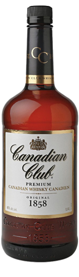 Canadian Club Whiskey 1 Litre