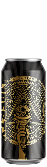 Liberty Darkest Days Oatmeal Stout 440ml Can