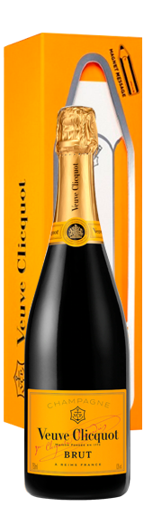 Veuve Clicquot Yellow Label Brut NV Magnetic Message Gift Box
