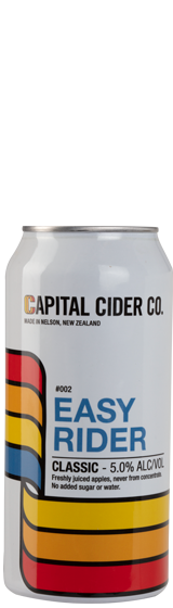 Capital Cider Co Easy Rider Classic Apple Cider (440ml)