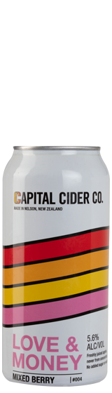 Capital Cider Co Love & Money Mixed Berry Cider (440ml)