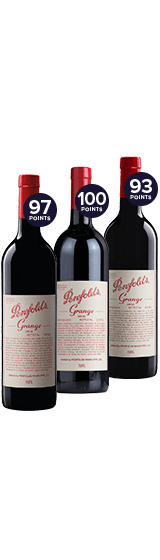 Penfolds Grange Vertical Mix - 2009, 2010, 2011
