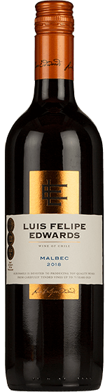Luis Felipe Edwards Classic Central Valley Malbec 2018
