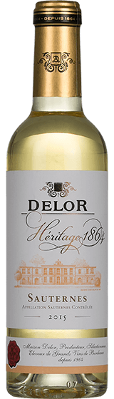 Delor Heritage 1864 Sauternes 2015 375ml