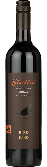 Bird In Hand Blackbird Adelaide Hills Shiraz 2016