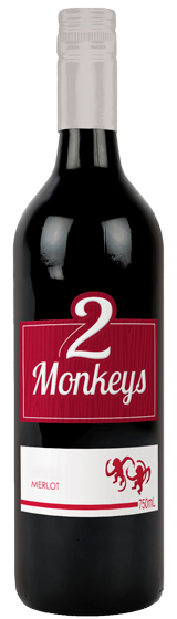 Two Monkeys Australian Merlot 2020