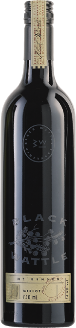 Black Wattle Mt Benson Merlot 2017