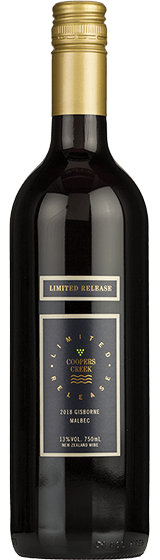 Coopers Creek Limited Release Gisborne Malbec 2018