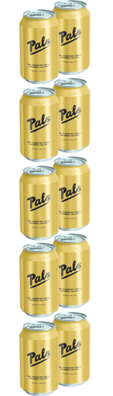 Pals Gin Hawke's Bay Lemon Cucumber and Soda 10-Pack (10x330ml)
