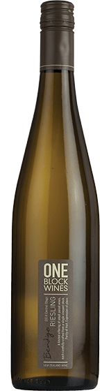 One Block Wines Central Otago Riesling 2014
