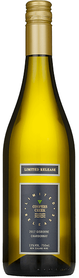 Coopers Creek Limited Release Gisborne Chardonnay 2017