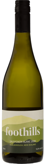 Foothills Marlborough Sauvignon Blanc 2020