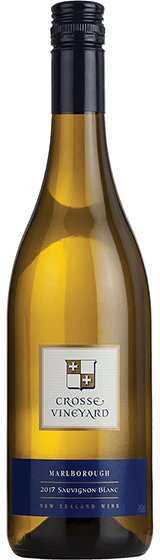Crosse Vineyard Marlborough Sauvignon Blanc 2017