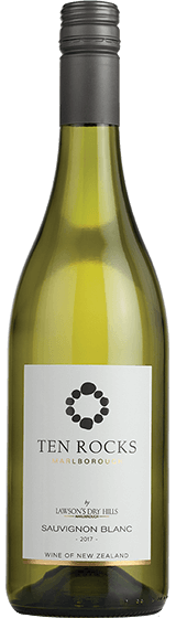 Ten Rocks By Lawson'S Dry Hills Marlborough Sauvignon Blanc 2017
