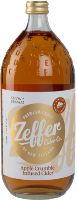 Zeffer Apple Crumble Infused Cider (1L)