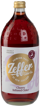 Zeffer Cherry Infused Cider (1L)